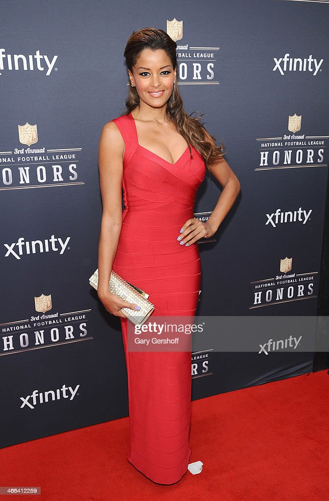 TV personality <a gi-track='captionPersonalityLinkClicked' href=/galleries/search?phrase=Claudia+Jordan&family=editorial&specificpeople=702294 ng-click='$event.stopPropagation()'>Claudia Jordan</a> attends the 3rd Annual NFL Honors at Radio City Music Hall on February 1, 2014 in New York City.