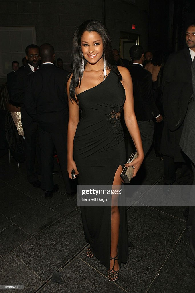 TV personality Claudia Jordan attends the Inaugural Ball hosted by BET Networks at Smithsonian American Art Museum & National Portrait Gallery on January 21, 2013 in Washington, DC.