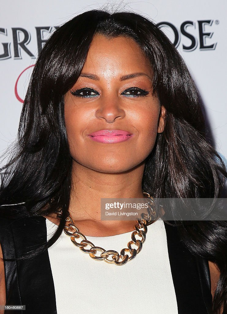 TV personality Claudia Jordan attends the NAACP Image Awards Pre-Gala at Vibiana on January 31, 2013 in Los Angeles, California.