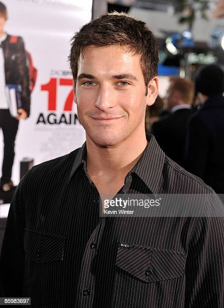 TV personality Clay Adler arrives at the premiere of Warner Bros '17 Again' held at Grauman's Chinese Theatre on April 14 2009 in Hollywood California