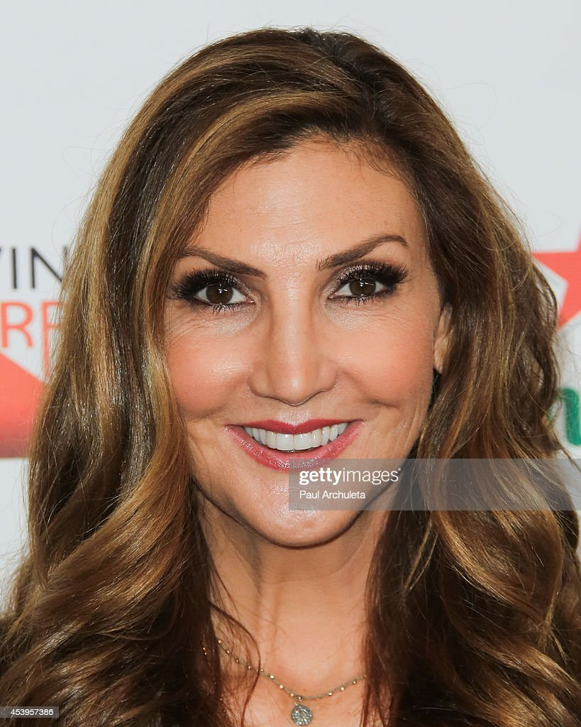 TV Personality / Comedian <a gi-track='captionPersonalityLinkClicked' href=/galleries/search?phrase=Heather+McDonald&family=editorial&specificpeople=4756128 ng-click='$event.stopPropagation()'>Heather McDonald</a> attends the OK! TV Emmy pre-awards party at Sofitel Hotel on August 21, 2014 in Los Angeles, California.