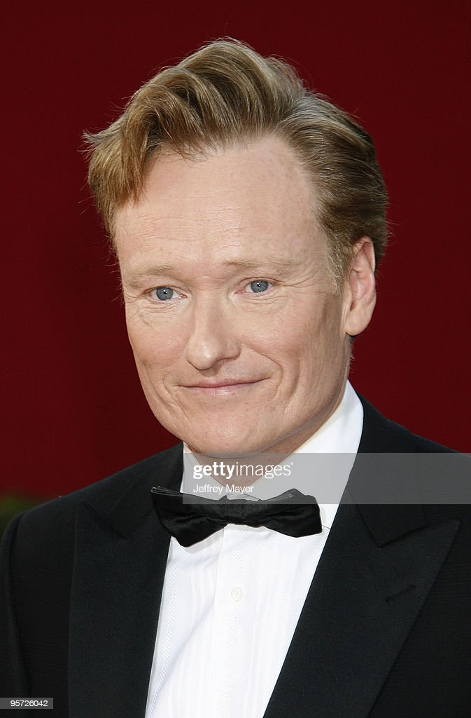 Personality Conan O'Brien arrives at the 61st Annual Primetime Emmy Awards at the Nokia Theatre LA Live on September 20 2009 in Los Angeles California