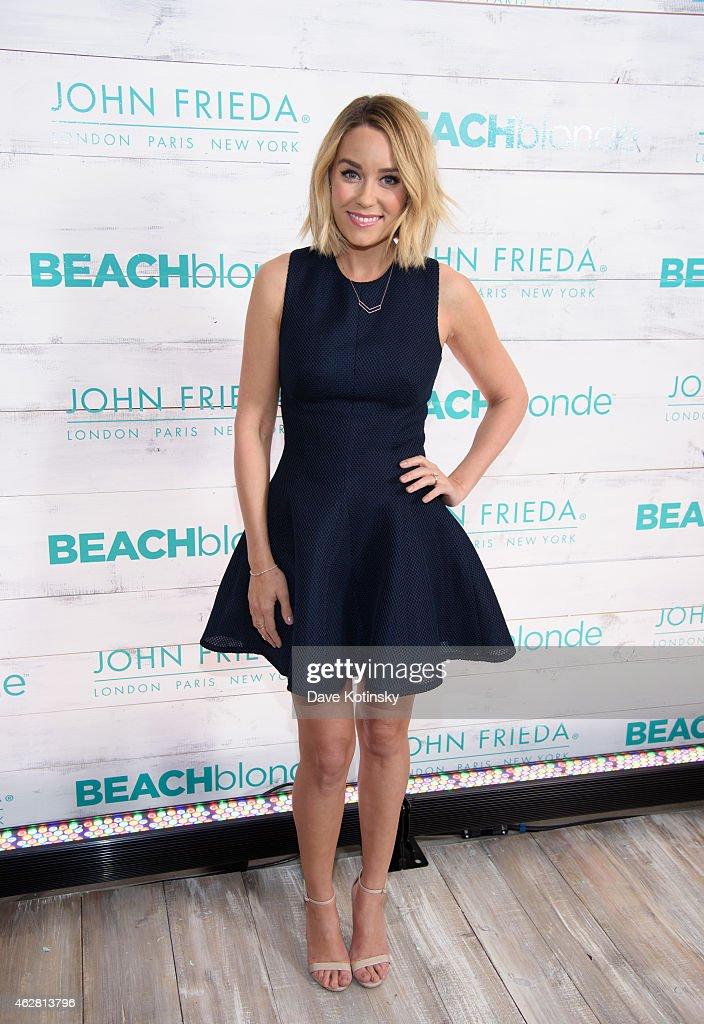 John Frieda Hair Care Beach Blonde Collection Party