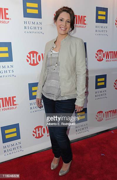 TV personality Cori Boccumii arrives to the premiere of Showtime's 'The Real L Word' on June 1 2011 in West Hollywood California