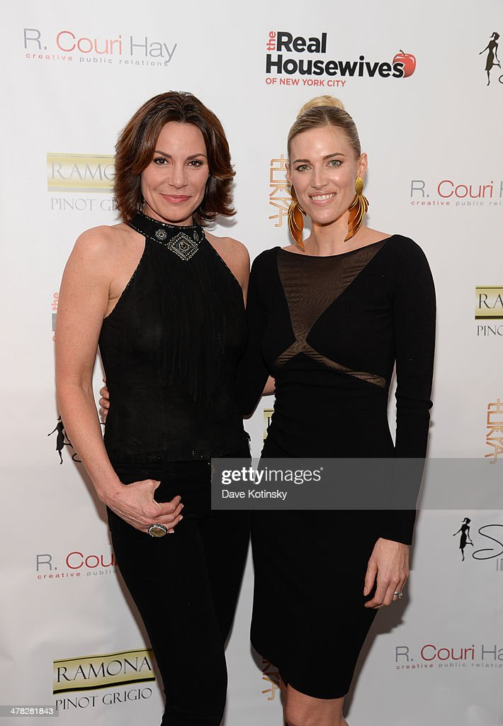 TV personality Countess LuAnn De Lesseps and Kristen Taekman attend the 'The Real Housewives Of New York City' season six premiere party at Tokya on March 12, 2014 in New York City.