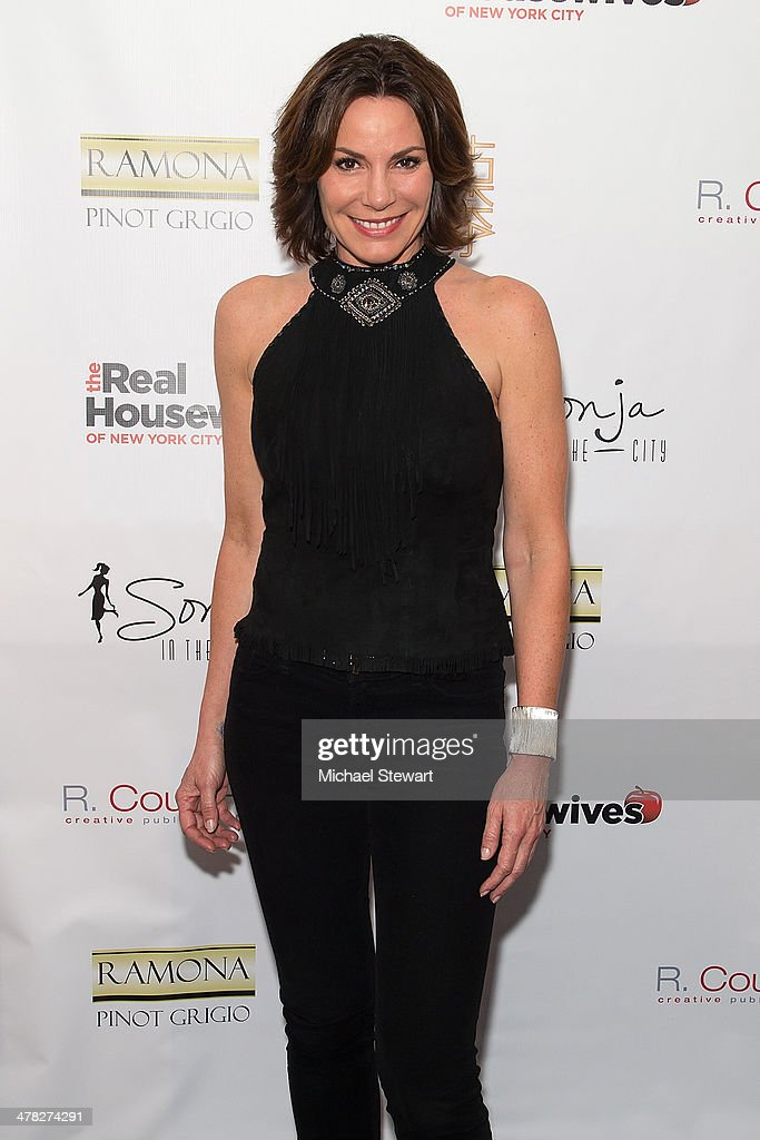 TV personality Countess LuAnn De Lesseps attend the 'The Real Housewives Of New York City' season six premiere party at Tokya on March 12, 2014 in New York City.