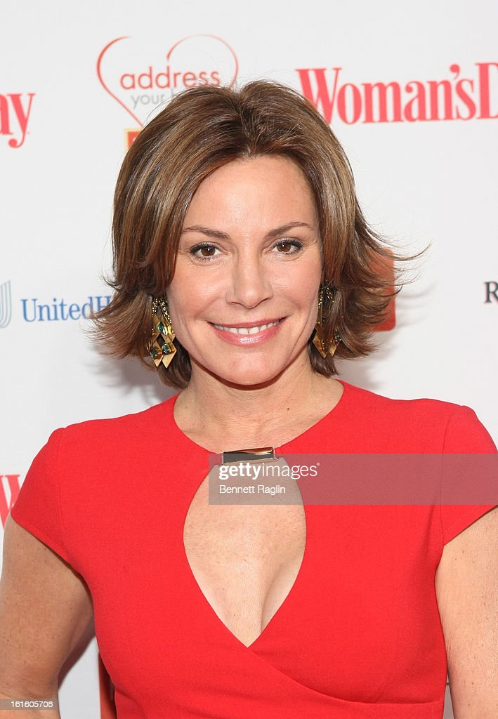 TV personality Countess LuAnn De Lesseps attends the 10th Annual Red Dress Awards at Jazz at Lincoln Center on February 12, 2013 in New York City.