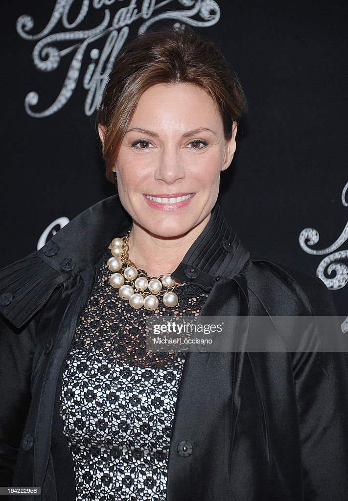 TV personality Countess LuAnn de Lesseps attends the 'Breakfast At Tiffany's' Broadway Opening Night at Cort Theatre on March 20, 2013 in New York City.