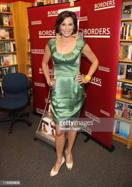 TV personality Countess LuAnn de Lesseps promotes 'Class With The Countess How To Live with Elegance and Flair' at Borders Park Avenue on April 21...
