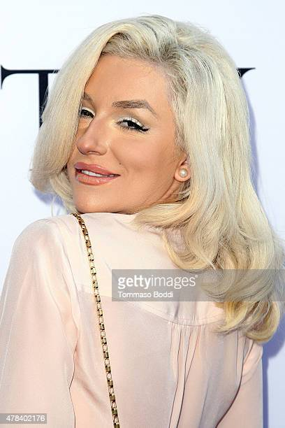 TV personality Courtney Stodden attends the world premiere screening of documentary 'Unity' held at the DGA Theater on June 24 2015 in Los Angeles...