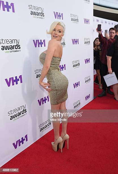 TV personality Courtney Stodden attends VH1's 5th Annual Streamy Awards at the Hollywood Palladium on Thursday September 17 2015 in Los Angeles...
