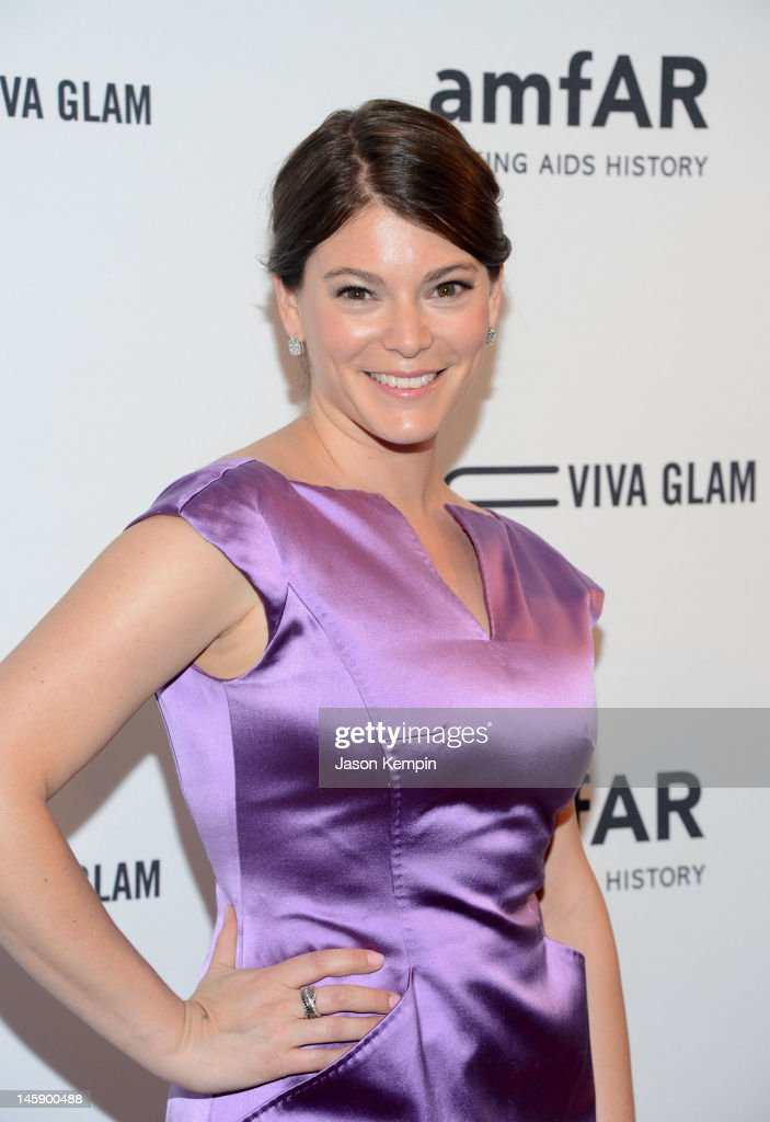TV personality, culinary expert Gail Simmons attends the 3rd annual amfAR Inspiration Gala New York at The New York Public Library - Stephen A. Schwarzman Building on June 7, 2012 in New York City.