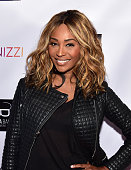 TV personality Cynthia Bailey attends her Private 'Real Housewives Of Atlanta' Season 8 Screening at Marke on November 8 2015 in Atlanta Georgia