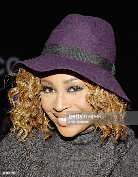 TV personality Cynthia Bailey attends the Katya Leonovich fashion show during MercedesBenz Fashion Week Fall 2014 at The Pavilion at Lincoln Center...