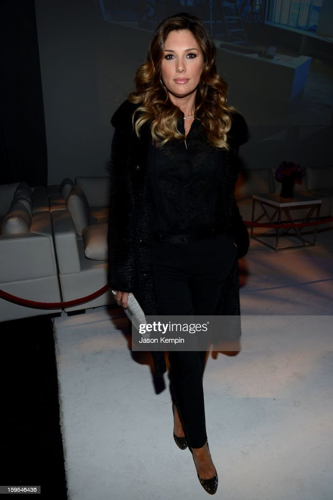 TV personality Daisy Fuentes joined President Bill Clinton and Kobe Bryant at the grand opening of STEP UP ON VINE on January 14, 2013 in Los Angeles, California.