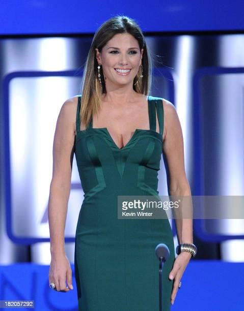 TV personality Daisy Fuentes speaks onstage during the 2013 NCLR ALMA Awards at Pasadena Civic Auditorium on September 27 2013 in Pasadena California