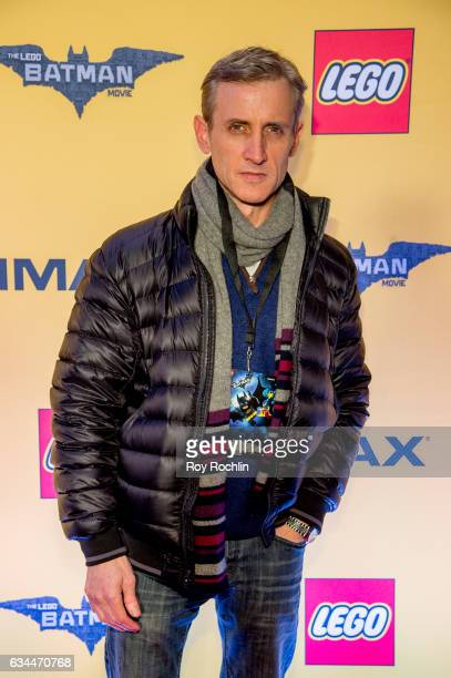 TV personality Dan Abrams attends 'The Lego Batman Movie' New York Screening at AMC Loews Lincoln Square 13 on February 9 2017 in New York City