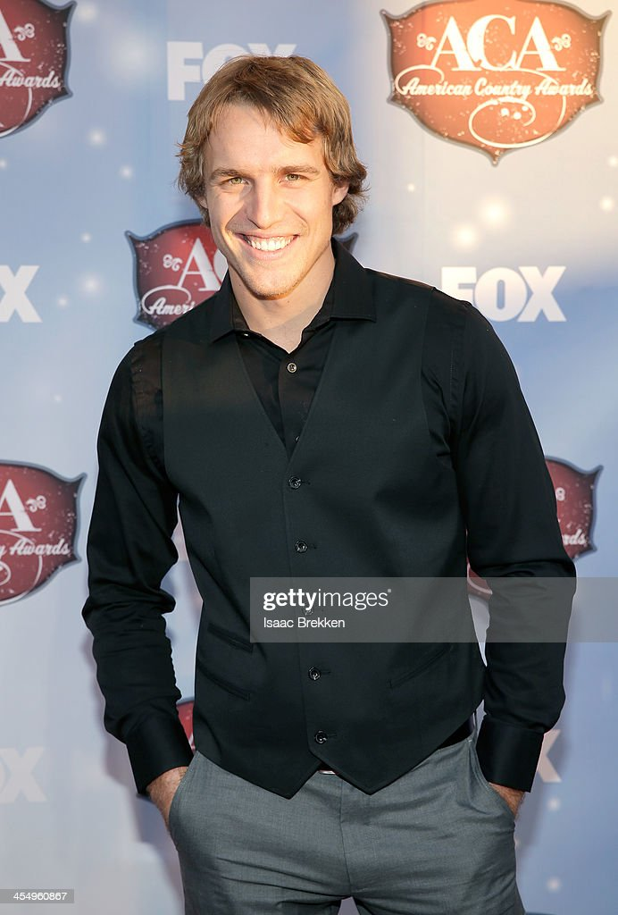 TV personality Dan King arrives at the American Country Awards 2013 at the Mandalay Bay Events Center on December 10, 2013 in Las Vegas, Nevada.