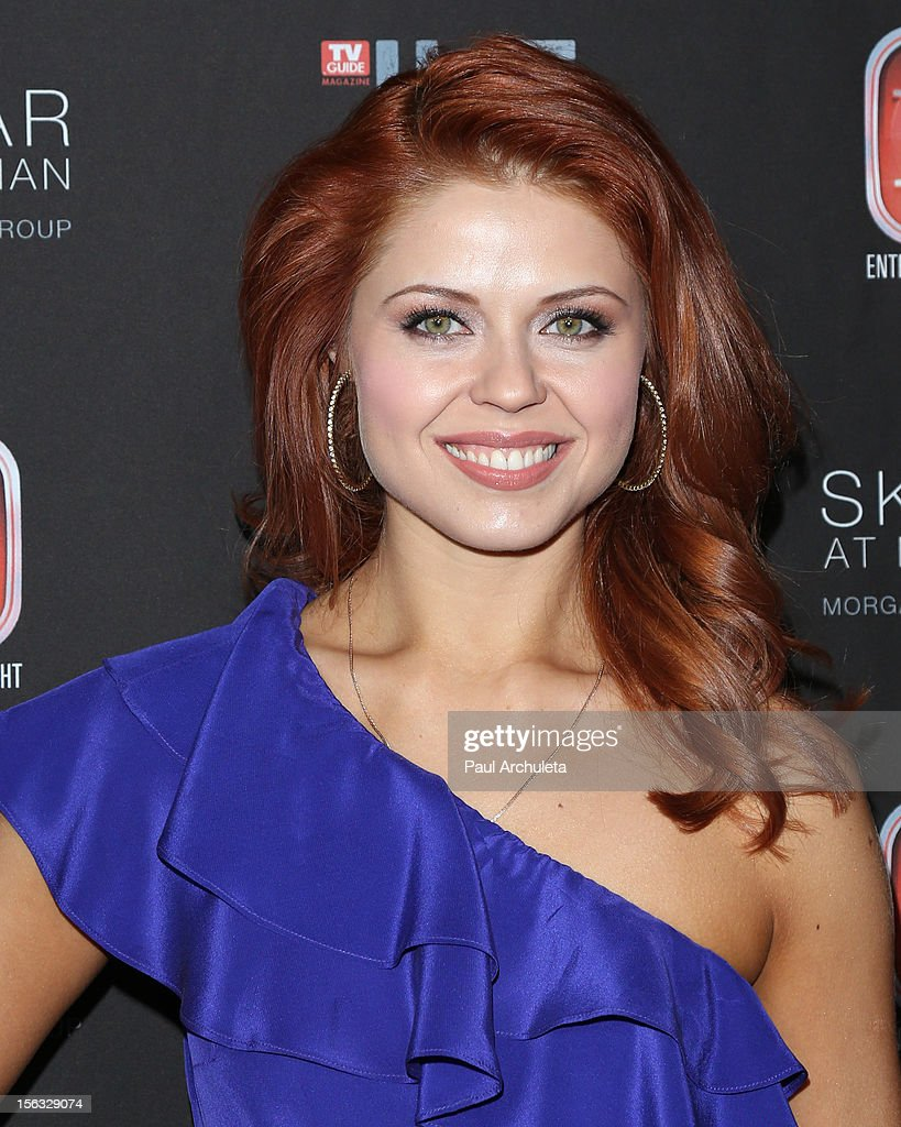 TV Personality / Dancer Anna Trebunskaya attends the TV Guide Magazine Hot List Party at SkyBar at the Mondrian Los Angeles on November 12, 2012 in West Hollywood, California.