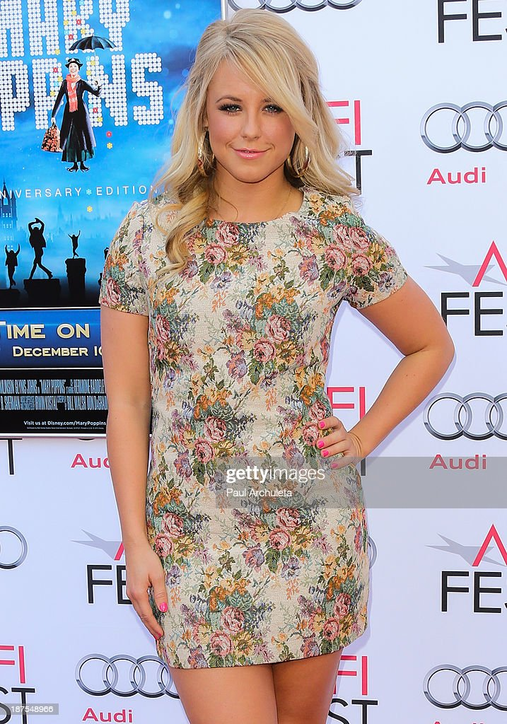TV Personality / Dancer Chelsie Hightower attends the 50th Anniversary of 'Mary Poppins' at AFI FEST 2013 at the TCL Chinese Theatre on November 9, 2013 in Hollywood, California.