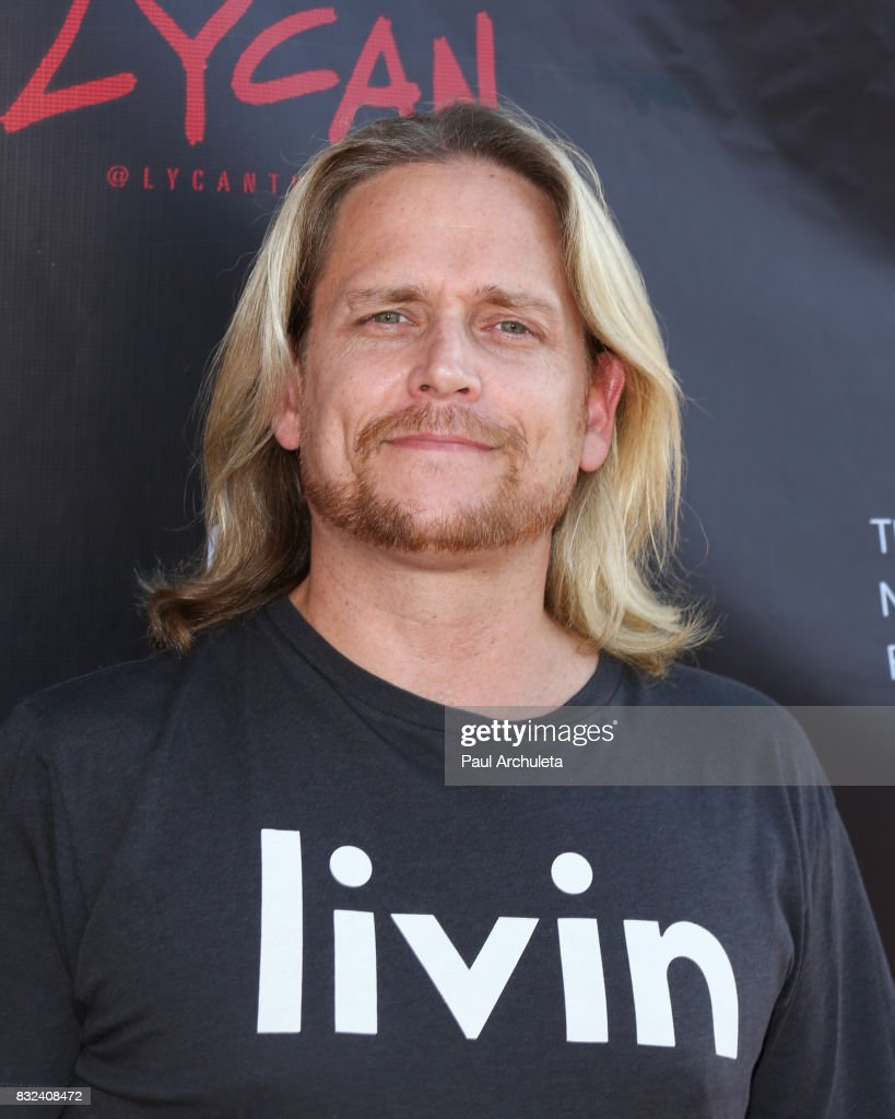 TV Personality / Dancer Damian Whitewood attends the premiere of 'Lycan' at Laemmle's Ahrya Fine Arts Theatre on August 15, 2017 in Beverly Hills, California.