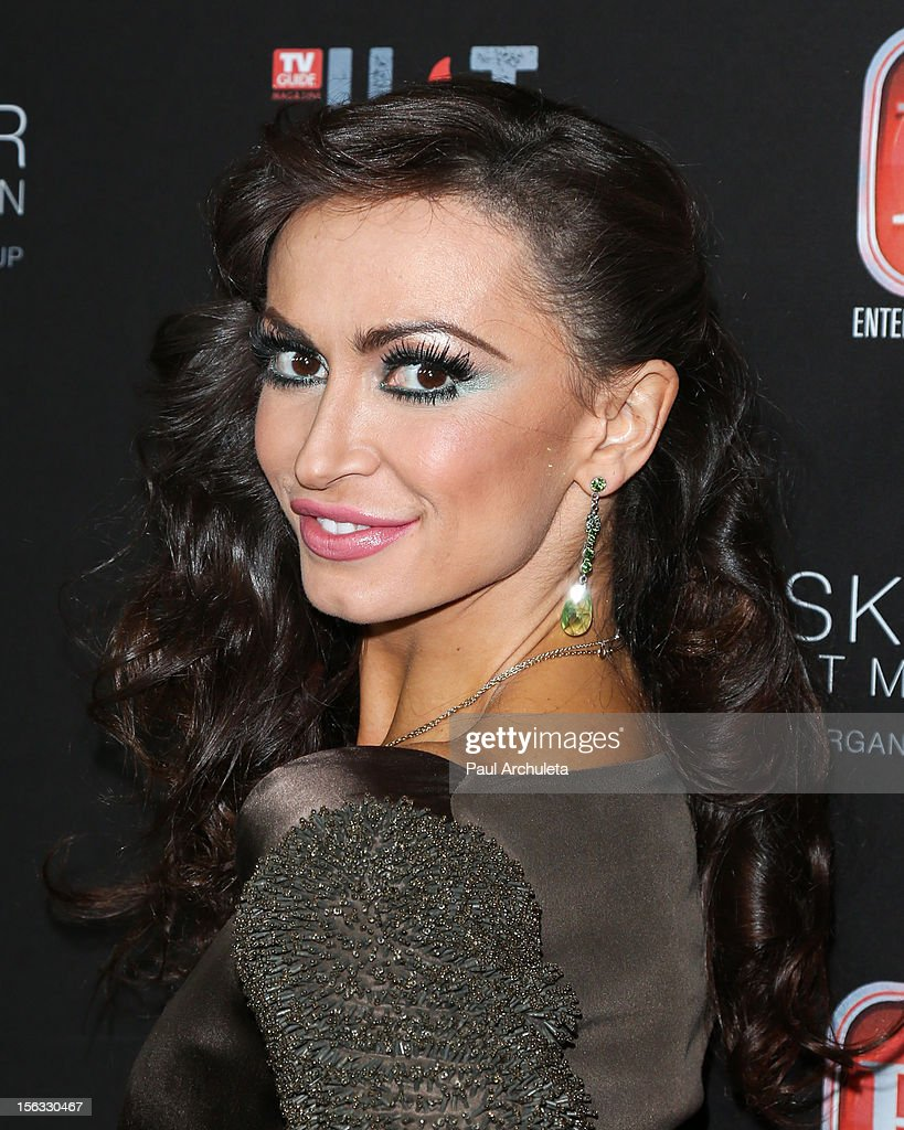 TV Personality / Dancer Karina Smirnoff attends the TV Guide Magazine Hot List Party at SkyBar at the Mondrian Los Angeles on November 12, 2012 in West Hollywood, California.