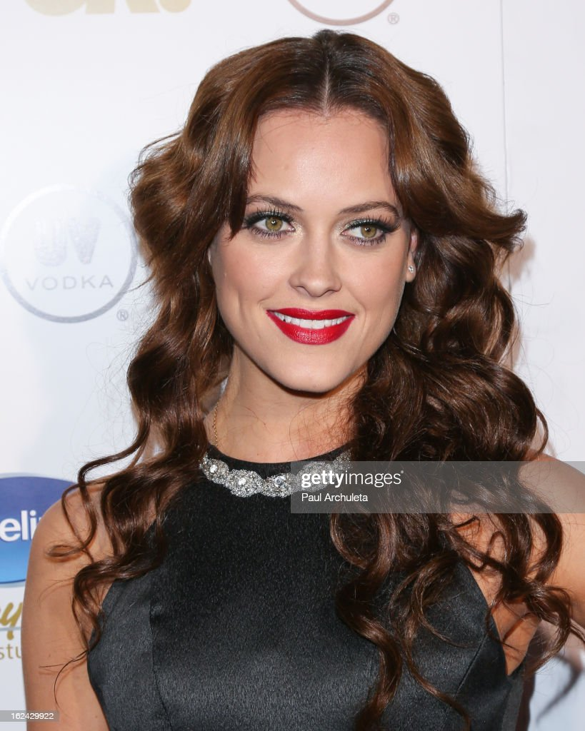 TV Personality / Dancer Peta Murgatroyd attends OK! Magazine's Pre-Oscar party at The Emerson Theatre on February 22, 2013 in Hollywood, California.