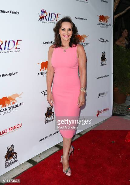 Personality / Dancer Shirley Ballas attends the Ride Foundation's Inaugural Gala dance for Africa at Boulevard3 on July 23 2017 in Hollywood...