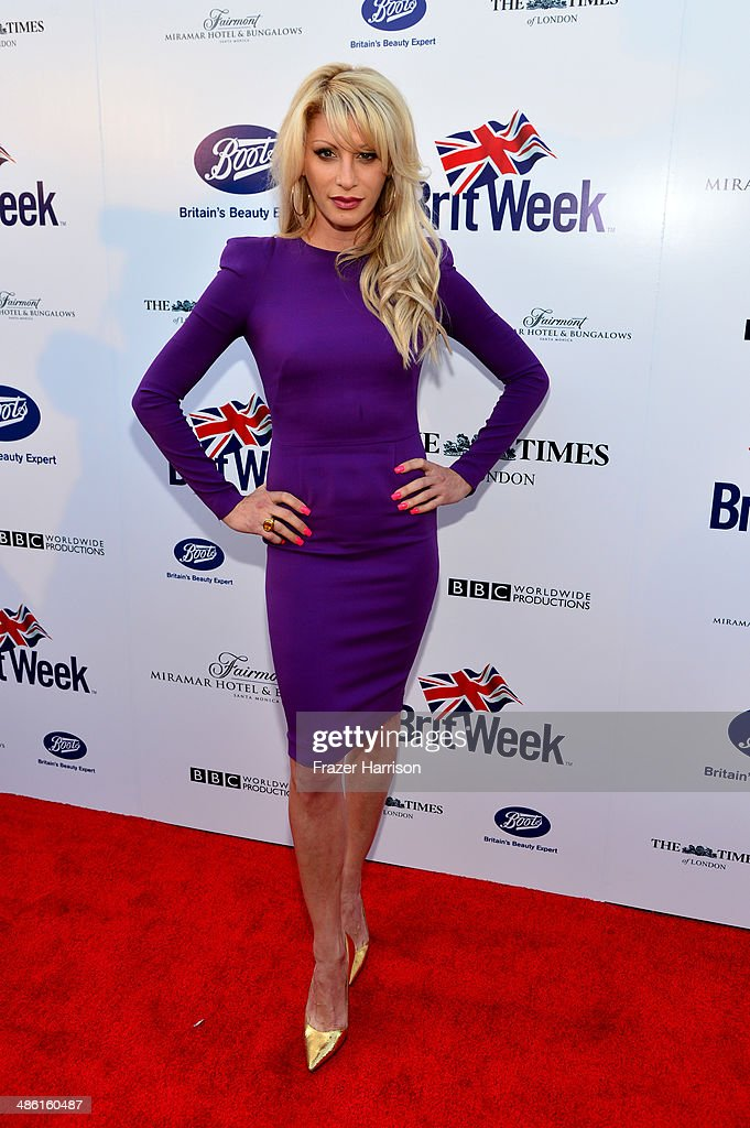TV personality <a gi-track='captionPersonalityLinkClicked' href=/galleries/search?phrase=Dani+Behr&family=editorial&specificpeople=750912 ng-click='$event.stopPropagation()'>Dani Behr</a> attends the 8th Annual BritWeek Launch Party at a private residence on April 22, 2014 in Los Angeles, California.