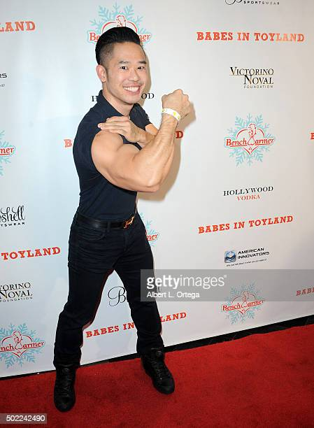 TV personality Daniel Lue arrives for the 2015 Babes In Toyland And BenchWarmer Charity Toy Drive held at Avalon on December 9 2015 in Hollywood...