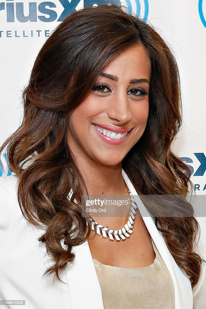 TV personality Danielle Jonas visits the SiriusXM Studios on April 18, 2013 in New York City.
