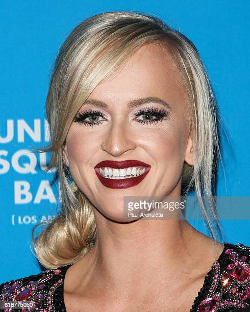 Personality Danielle Moinet attends the 4th annual UNICEF Masquerade Ball at Clifton's Cafeteria on October 27 2016 in Los Angeles California