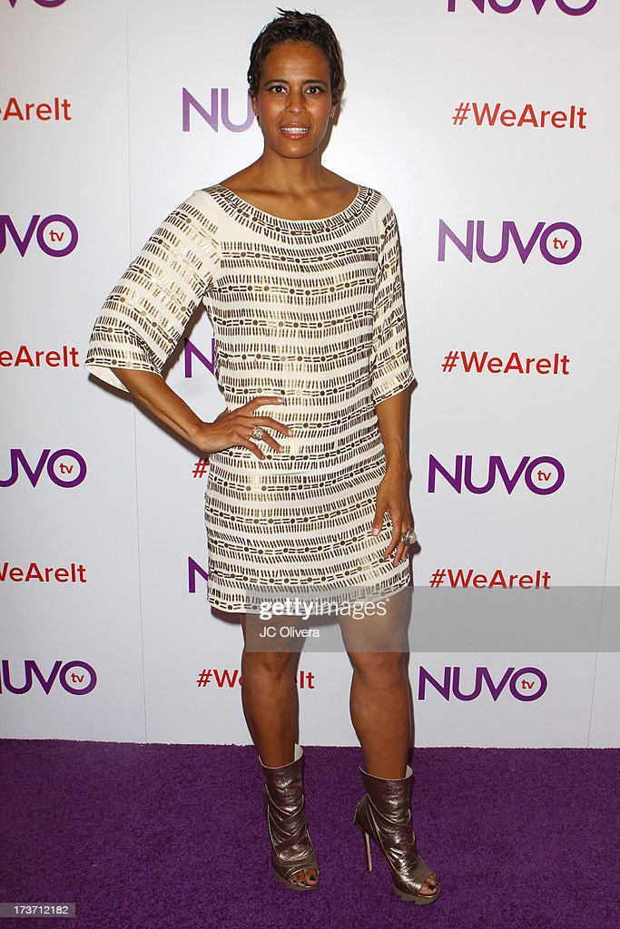 TV personality Daphne Wayans attends NUVOtv Network Launch Party at The London West Hollywood on July 16, 2013 in West Hollywood, California.