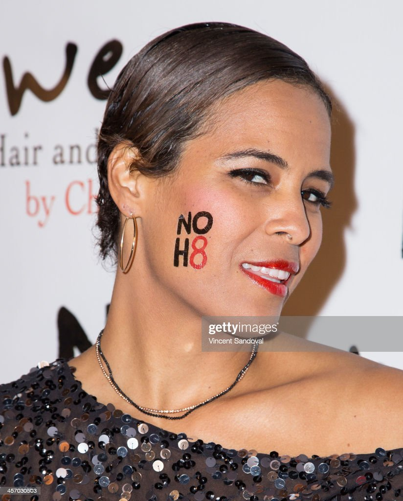 TV personality <a gi-track='captionPersonalityLinkClicked' href=/galleries/search?phrase=Daphne+Wayans&family=editorial&specificpeople=4878193 ng-click='$event.stopPropagation()'>Daphne Wayans</a> attends the NOH8 Campaign's 5th Annual Anniversary Celebration at Avalon on December 15, 2013 in Hollywood, California.