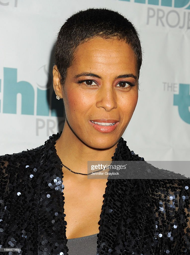 TV personality Daphne Wayans attends the Thirst Project Charity Cocktail Party held at Lexington Social House on January 15, 2013 in Hollywood, California.