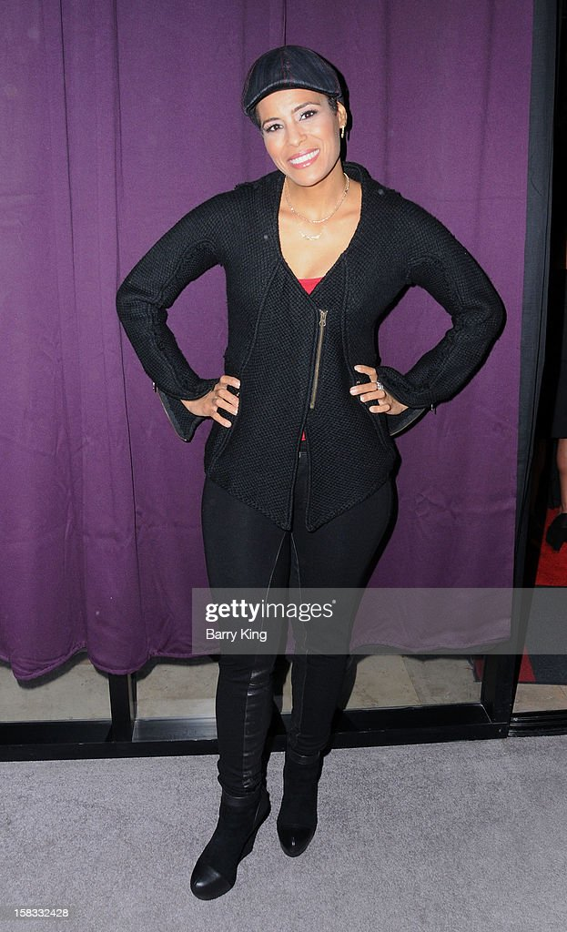 TV personality Daphne Wayans attends the WHO CED In-Store Holiday Launch Party at Brigade LA on December 12, 2012 in Los Angeles, California.