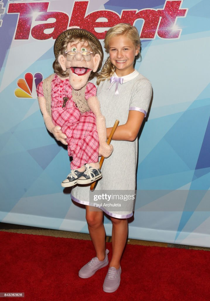 TV Personality Darci Lynne attends the NBC's 'America's Got Talent' season 12 live show at Dolby Theatre on September 5, 2017 in Hollywood, California.