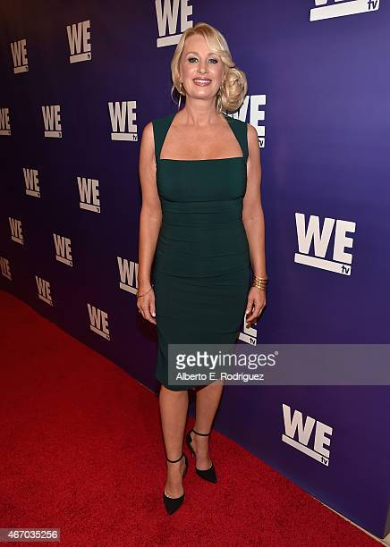 TV personality Darva Conger attends the WE tv presents 'The Evolution of The Relationship Reality Show' at The Paley Center for Media on March 19...