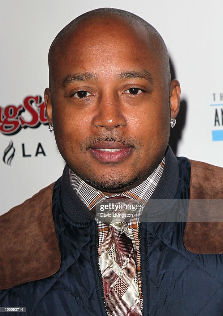 TV personality Daymond John attends Rolling Stone Magazine's 2012 American Music Awards (AMAs) VIP After Party presented by Nokia and Rdio at the Rolling Stone Restaurant and Lounge on November 18, 2012 in Los Angeles, California.