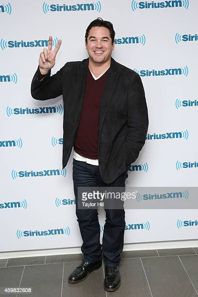 TV personality Dean Cain visits the SiriusXM Studios on December 2 2014 in New York City