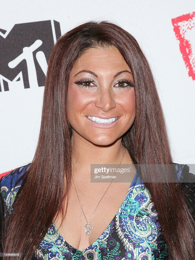 TV Personality Deena Cortese attends 'Love, Loss, (Gym, Tan) and Laundry: A Farewell To The Jersey Shore' during the 2012 New York Television Festival at 92Y Tribeca on October 24, 2012 in New York City.