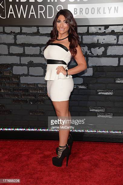 Personality Deena Cortese attends the 2013 MTV Video Music Awards at the Barclays Center on August 25 2013 in the Brooklyn borough of New York City
