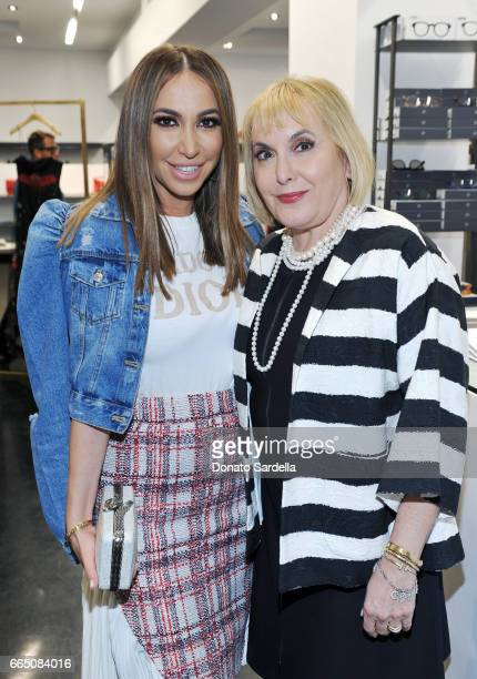 TV personality Diana Madison and producer Hilary Shor attend DIOR SS17 Collection Launch at Maxfield on April 5 2017 in Los Angeles California