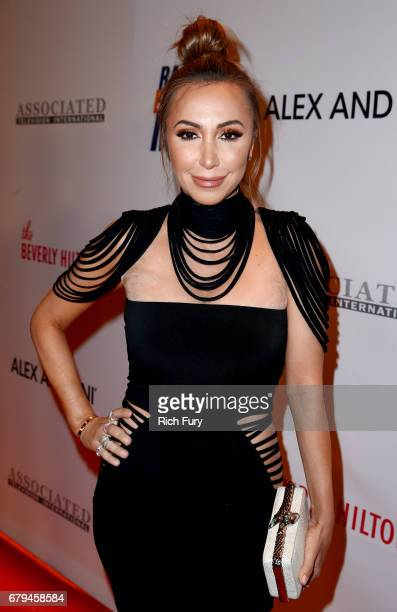 TV personality Diana Madison attends the 24th Annual Race To Erase MS Gala at The Beverly Hilton Hotel on May 5 2017 in Beverly Hills California