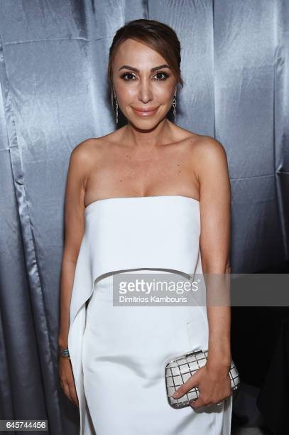 TV personality Diana Madison attends the 25th Annual Elton John AIDS Foundation's Academy Awards Viewing Party at The City of West Hollywood Park on...