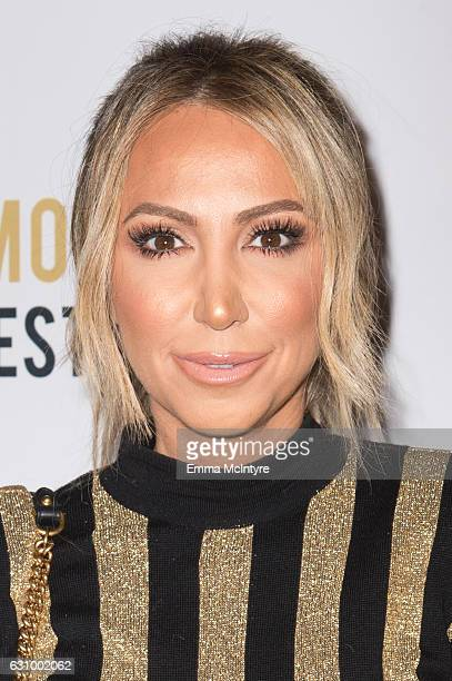 TV personality Diana Madison attends the 2nd Annual Moet Moment Film Festival and Kick Off of Golden Globes Week at Doheny Room on January 4 2017 in...