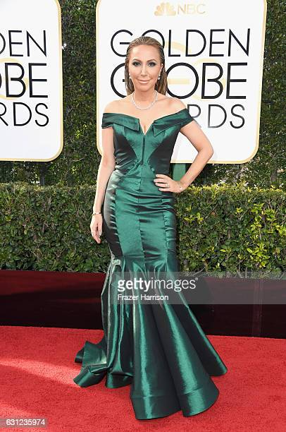 TV personality Diana Madison attends the 74th Annual Golden Globe Awards at The Beverly Hilton Hotel on January 8 2017 in Beverly Hills California