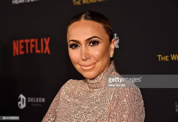 TV personality Diana Madison attends The Weinstein Company and Netflix Golden Globe Party presented with DeLeon Tequila Laura Mercier Lindt Chocolate...