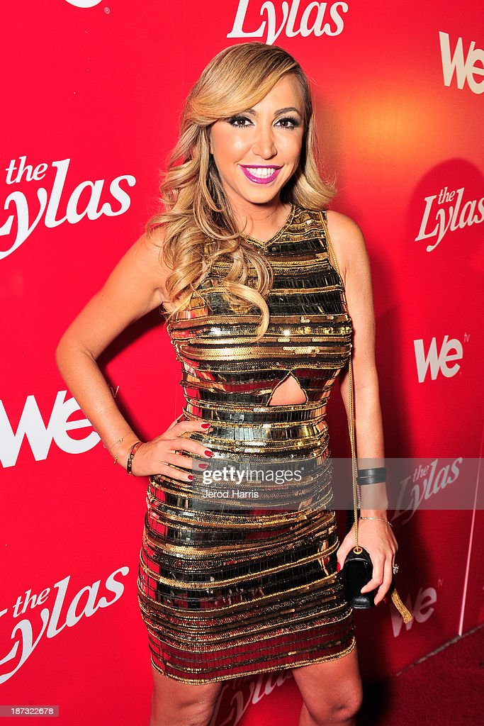 TV personality Diana Madison is seen at WE tv's Celebration for The Premiere Of It's Newest Series 'The LYLAS' at the Warwick on November 7, 2013 in Hollywood, California.