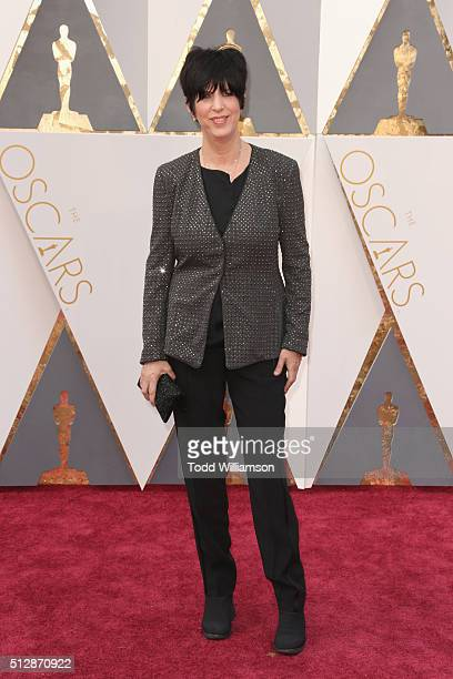TV personality Diane Warren attends the 88th Annual Academy Awards at Hollywood Highland Center on February 28 2016 in Hollywood California